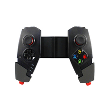 Big discount Wireless Bluetooth 3.0 Gamepad Game Controller with Telescopic Stand for Phones Game Joysticks for Android Tablet PC TV/TV Box