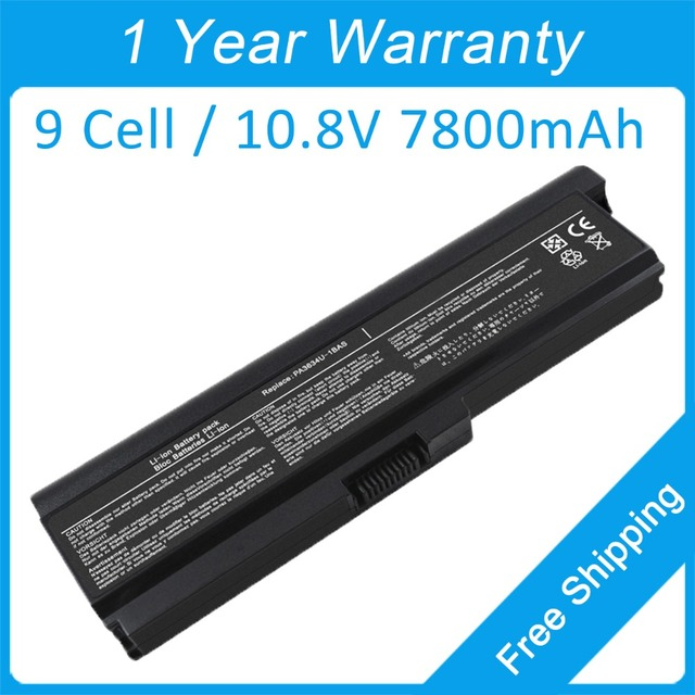 New 9 cell laptop battery for toshiba Satellite L300 L515D L650D ...