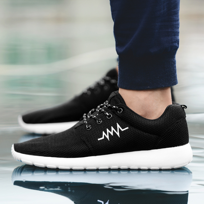 CASMAG Classic Men and Women Sneakers Outdoor Walking Lace up Breathable Mesh Super Light Jogging Sports Running Shoes 47