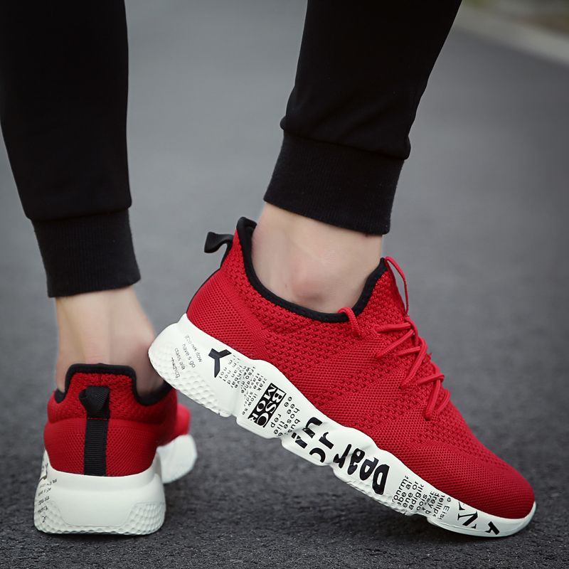 Zapatos Hombres Masculino Hombre B Weweya Masculinos Al Tenis red white B Aire Casuales Zapatillas black red B Woven Blue black Libre gray Sapatos Transpirables E5SWEHq48