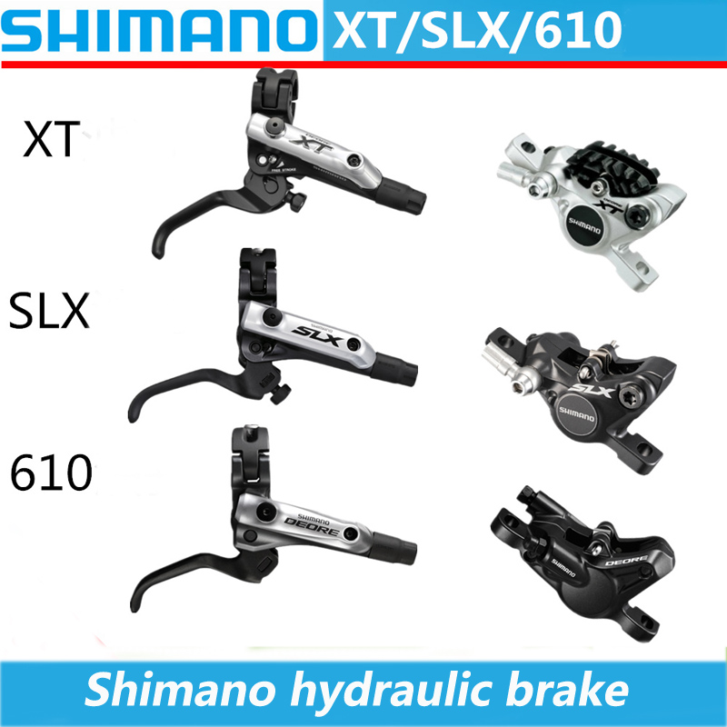SHIMANO XT / SLX / Deore BL-M8000 / 675/615 MTB Bicycle Mountain Vehicle Hydraulic Disc Brake Bicycle Disc Brake Hydraulic Brake shimano slx bl m7000 m675 hydraulic disc brake lever left right brake caliper mtb bicycle parts