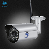 ZSVEDIO Surveillance Cameras WIFI IP Camera Motion Detection Alarm System IP Cameras Ip66 Waterproof CCTV Monitor