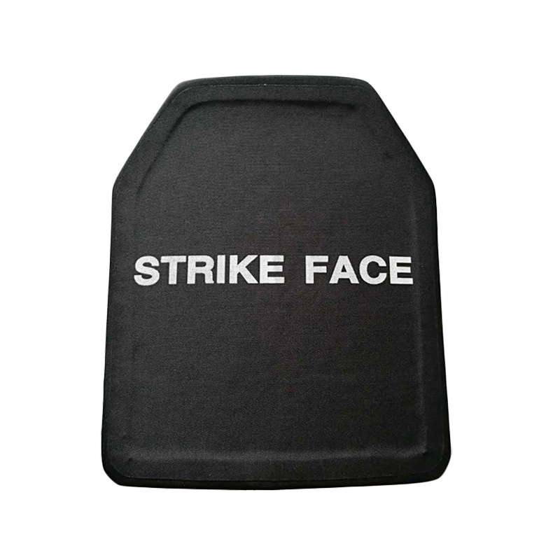PE III Level Bulletproof Plate Stand Alone Ballistic Panel Body Armor Plates UHMWPE 25*30cm 0.48kg 6 Mm Thick Light Weight