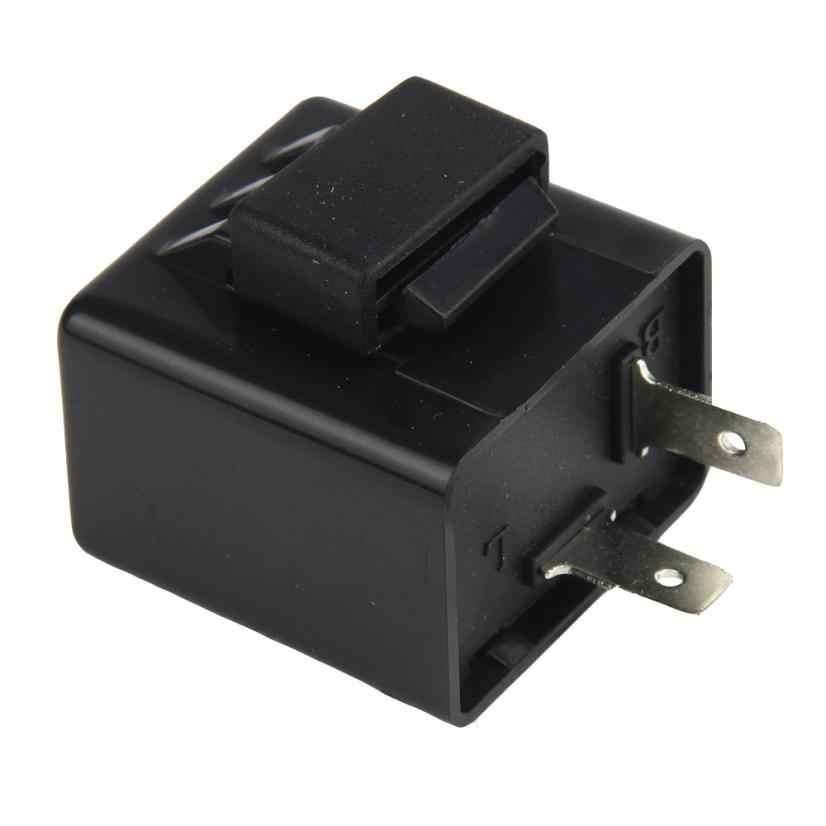רכב חיישני רכב סטיילינג נצנץ אלקטרוני LED להפוך אותות נצנץ נצנץ ממסר 12 v 2 פין אופנועים ממסר #2914