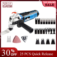 Prostormer Variable Speed Renovator Electric Multifunction Tool Oscillating Kit Multi Tools Home Decoration Trimmer Electric Saw