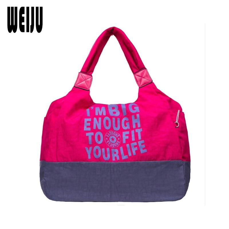 WEIJU Women Handbag Bags for Women 2017 Casual Water Wash Cloth Oxford Female Totes Bag Large Capacity Travel Woman Hand Bags