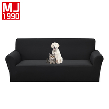 Polyester Waterproof Functional Stretch Sofa Cover Thick Anti-slip Knitted Covers Single Double 1/2/3/4 Seat
