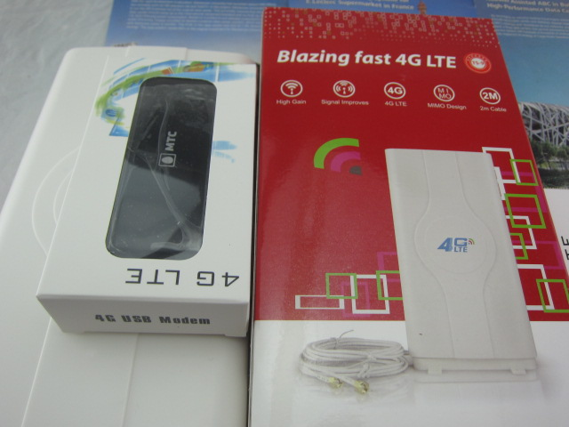 Huawei E392u-12 4G Lte USB Wireless Modem SIM Card Data Card Mobile Wifi + 49dbi TS9 EXTERNAL ANTENNA