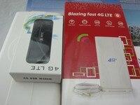 Huawei e392u 12 4 г LTE USB Беспроводной модем сим карты данные карты Мобильный Wi Fi + 49dbi TS9 внешнюю антенну