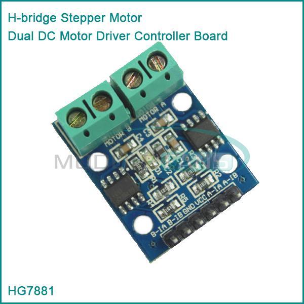 H Bridge Stepper Motor Dual Dc Motor Driver Controller Board Hg7881 For Arduino In Integrated