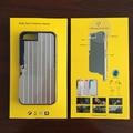 De múltiples funciones del teléfono case con selfie stick soporte de la cubierta trasera de aluminio de bluetooth disparador remoto para iphone 6 6 s 7 plus