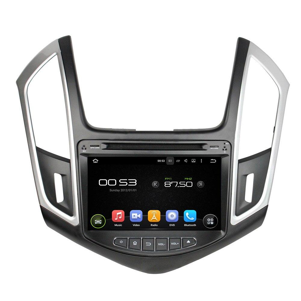 Otojeta lecteur dvd de voiture pour Chevrolet CRUZE 2015 tête unités médias octa base android 6.0 2 GB RAM stéréo gps/radio/dvr/obd2/tpms