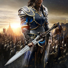 Thrall Movie Stormwind City Llane Sir Anduin Lothar Quel Zaram большой королевский меч Anduin Lothar