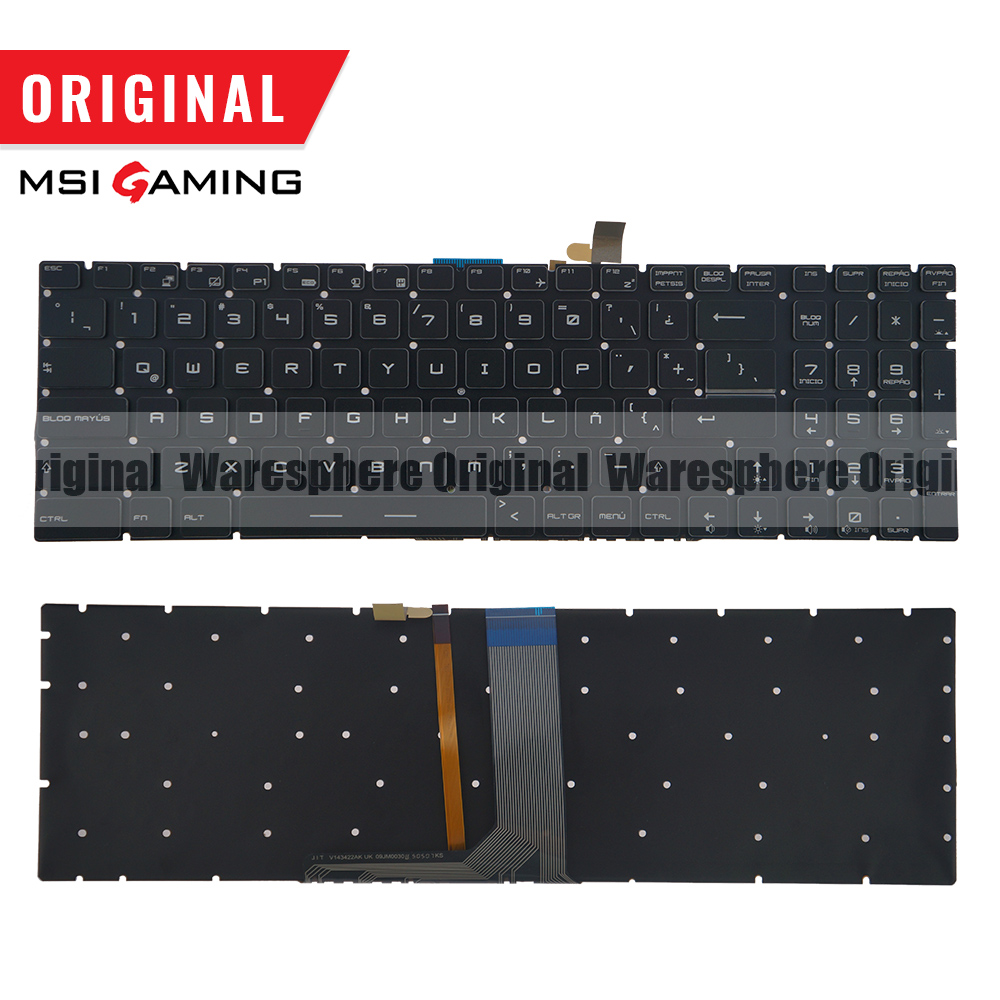Original Latin Colorful Backlit Keyboard For MSI GE72 GE62 WS60 GS60 GS70 GT72 GP62 GP72 GT73VR