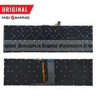 Original Latin Colorful Backlit Keyboard For MSI GE72 GE62 WS60 GS60 GS70 GT72 GP62 GP72 GT73VR V143422FK1 S1N 3E00211 SA0 LA