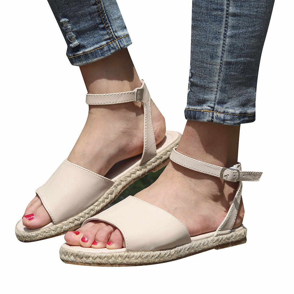 SAGACE Roman Sandals Women Flat  Female Shoes Fashion Comfortable Beach Shoes For Ladies Sandal Casual Roman Sandals Ladies Flat