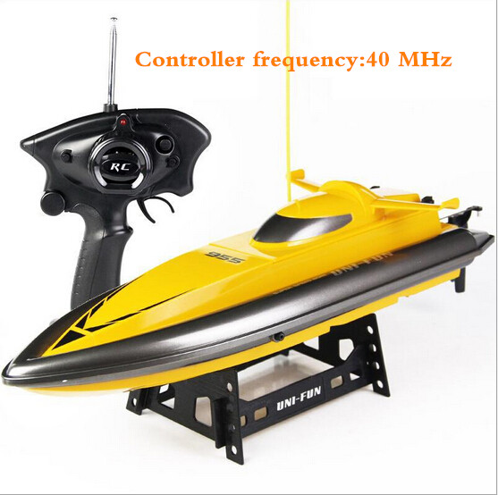 2016 Hot Sell Powerful Motor Racing Speed Electric Toys Model Ship Children Gift RC Boats Ship Radio Remote Control RC Boats free shipping voyager 2 4g mini rc sailboat sailing electric ship model yacht handmade boat toys children gift