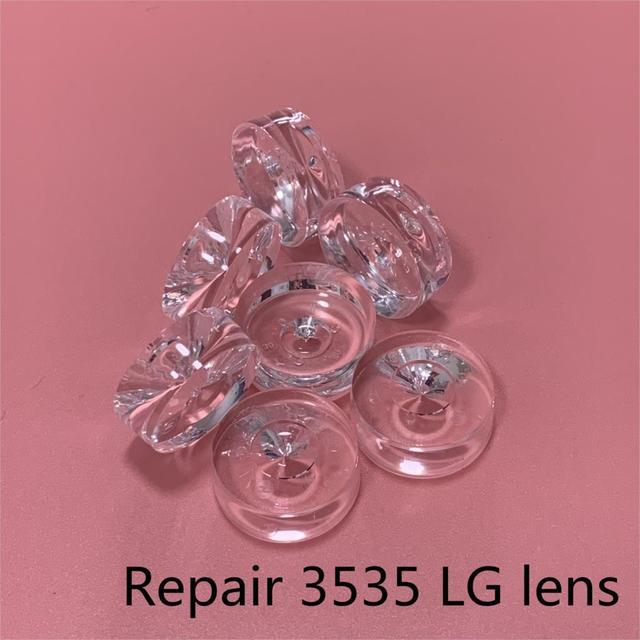 100ピース/ロットsmd led光学レンズ2835/3535拡散反射len lgイノテックypnlテレビバックライト記事ランプとライト新