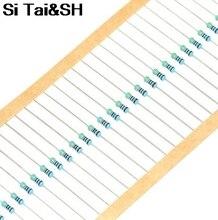 510R 510ohm 1/2W Metal Film Resistor 1% Colored Ring 0.5W Taping 100pcs/lot
