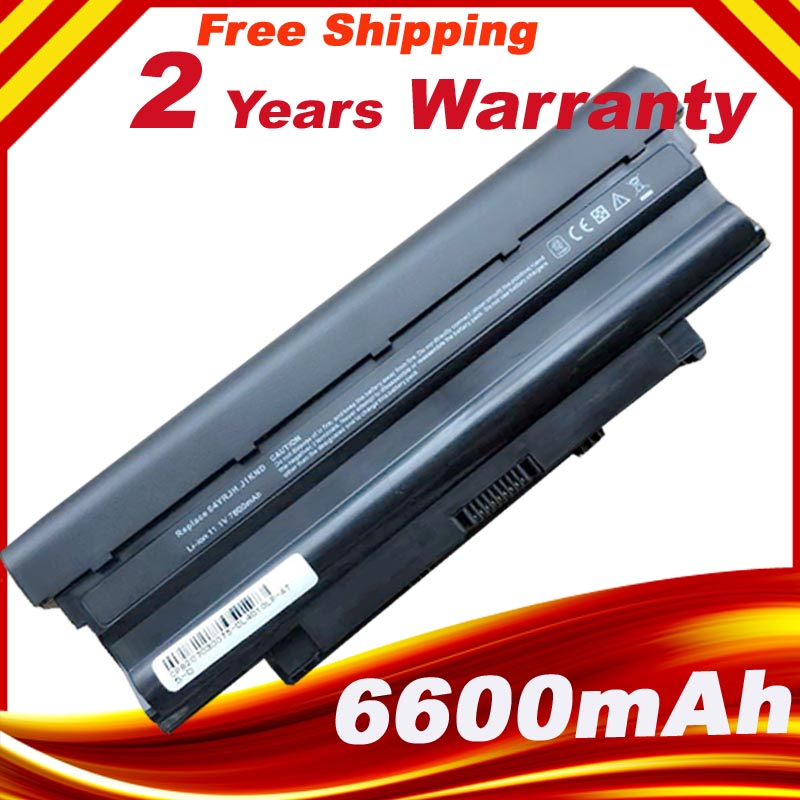 9cells 7800mAh Laptop Battery For DELL Inspiron N5010 N5110 J1KND 14R N4010 N4010-148 15R 17R N7010 J1KND new for dell inspiron 1464 1564 1764 n4010 fan