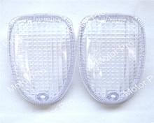Luz da motocicleta Cobre PARA BMW R1150R R1200C R1100S 1997 1998 1999 2000-2004 Turn Signal Luzes Indicadoras Blinker Lens cobre