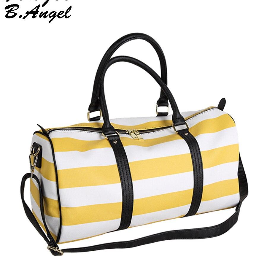 3dd303cff153 Известный бренд полосы камера кожаные мужские дорожные сумки Для женщин  сумка доллар цена