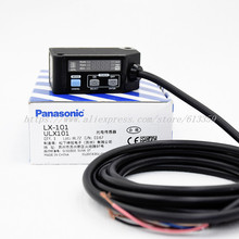 LX 101 Color Code Sensor Photoelectric Switch Sensor RGB Color Digital 3 LED Mark Sensor   NPN   2m Cable  100% New Original