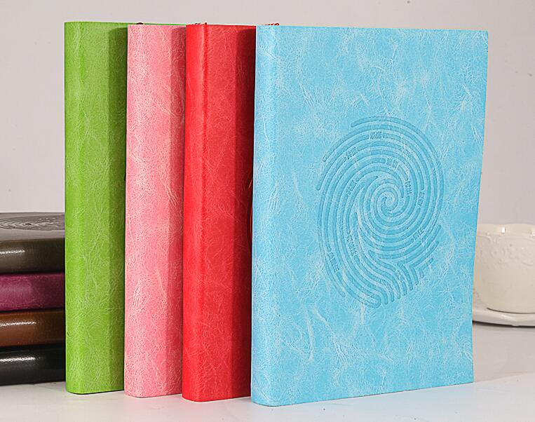 2017 A5 office notebook stationery leather note book thick hand books creative diary agenda jourbal planner organizer недорого