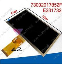 7300101463 E231732 lcd screen original Cube screen 7 inch U25GT lcd panel 163*97 HD 1024*600 LCD panel for cube U25GT tablet PC