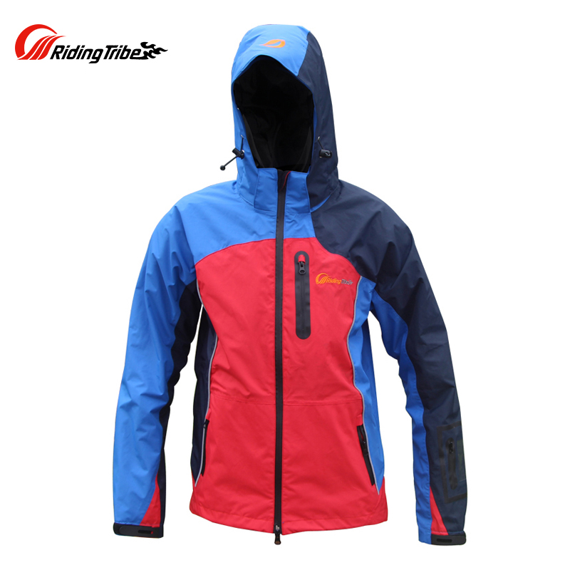 Riding Tribe Motorcycle Jacket Motocross Off-Road Racing Windproof Waterproof Warm Jacket Riding Clothing with 5 Protective Gear riding tribe men motocross off road racing jacket motorcycle windproof waterproof riding travel clothing with 5 protective gear