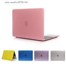 Transparent crystal cover For Apple macbook Air 13 case laptop funda For Macbook pro 13 case Air 11 13 Retina 12 15 sleeve bag
