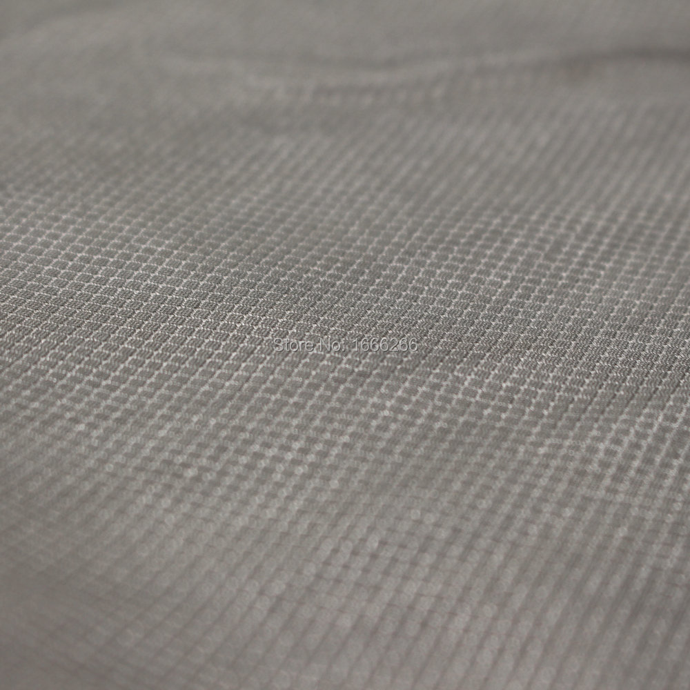 100% silver fiber antibacterial fabric for home textile