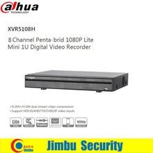 Dahua XVR video recorder DVR XVR5108H 8ch Support HDCVI/ AHD/TVI/CVBS/IP 1 SATA HDD,1080P P2P H.264+/H.264