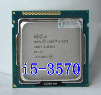 Intel  I5 3570 i5 3570  Processor Quad Core 3.4Ghz L3=6M 77W Socket LGA 1155 Desktop CPU  Free Shipping can work socket lga 1155 desktop cpu intel i5 3570 -