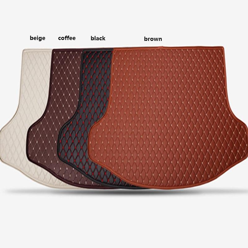 Shenlao for Volkswagen polo golf 4 6 7 custom car mat trunk for tiguan CC beetle passat b6 b5 b7 tail cargo liner trunk mats