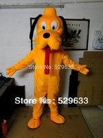 Grappige Hond Kostuums Mascot Adult Cartoon Mascot Optreden Leuke stripfiguur Mascot Gratis shpping door EMS