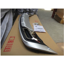 for 2011 2012 2013 2014 2015 KIA Sportager High quality plastic ABS Chrome Front+Rear bumper cover trim
