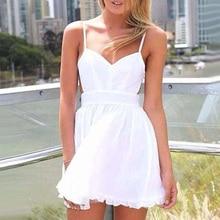 Retail Wholesales Women Fashion  Deep V Neck Sleeveless Party  Cocktail Club Mini Dress