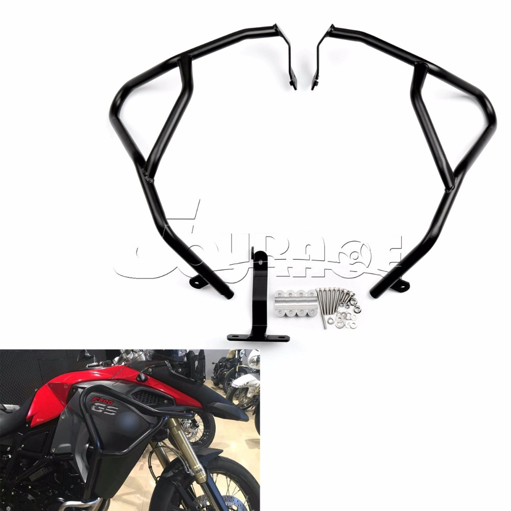 Motorbike Highway Engine Guard Crash Bar Extension Protection for BMW F800GS Adventure 2014 2015 2016 худи print bar adventure fiction
