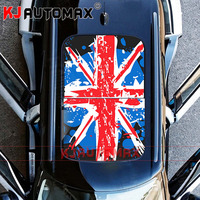 KJAUTOMAX Mini Cooper Roof Decal Perforated Vinyl Sticker Sunroof Union Jack Graphic Checker JCW R55 R56