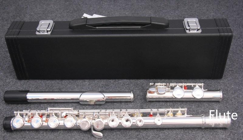 Haute qualité nouvelle flûte YFL-471 instrument de musique 16 trous argent ouvert E clé C air flûte performance livraison gratuite