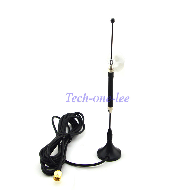 5 unid/lote 4G 10dbi LTE Antenas 3G 4G LTE antena 698-960/1700-2700 MHz con base magnética Sma macho rg174 3 M claro lechón Antenas