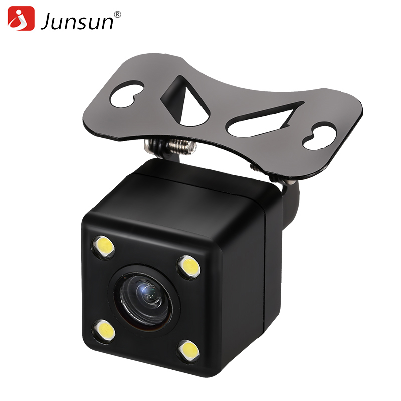 junsun 120 degree car rearview camera de recul back up 480p reverse camera for gps rear view. Black Bedroom Furniture Sets. Home Design Ideas