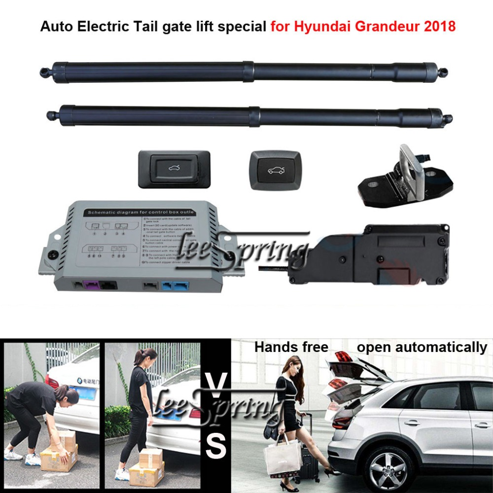 Автомобиль Электрический хвост ворота лифт специально для Hyundai Grandeur 2018 с защелкой