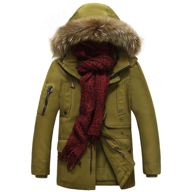 Épaississement Manteau D'hiver Marque Chaude Vente Vêtements Hommes RwqfqC