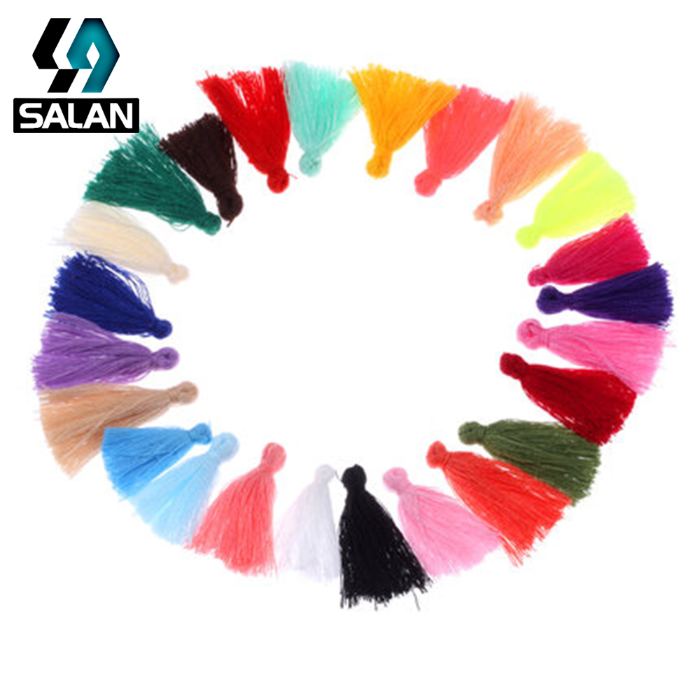 Spot direct multi-color DIY handmade jewelry earrings tassel head ornaments decorative accessories