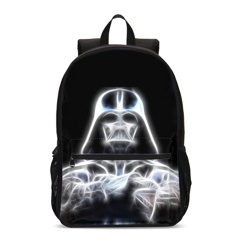Us 24 98 49 Off Backpack For S Fashion Cool Star Wars 3d Printed School Bags Age Children Bookbag Travel Laptop Mochila Escolar In
