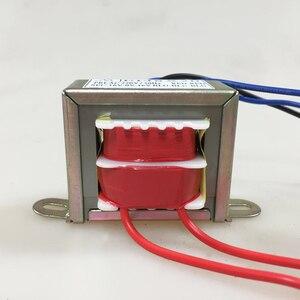Image 3 - EI48 8 w 50/60 hz AC220V 8 w Entrada EI Transformador de Potência 380 v 110 v Saída Dual 12 v/Dual 6 v/Dual 24 v/Dual 18 v Duas linhas