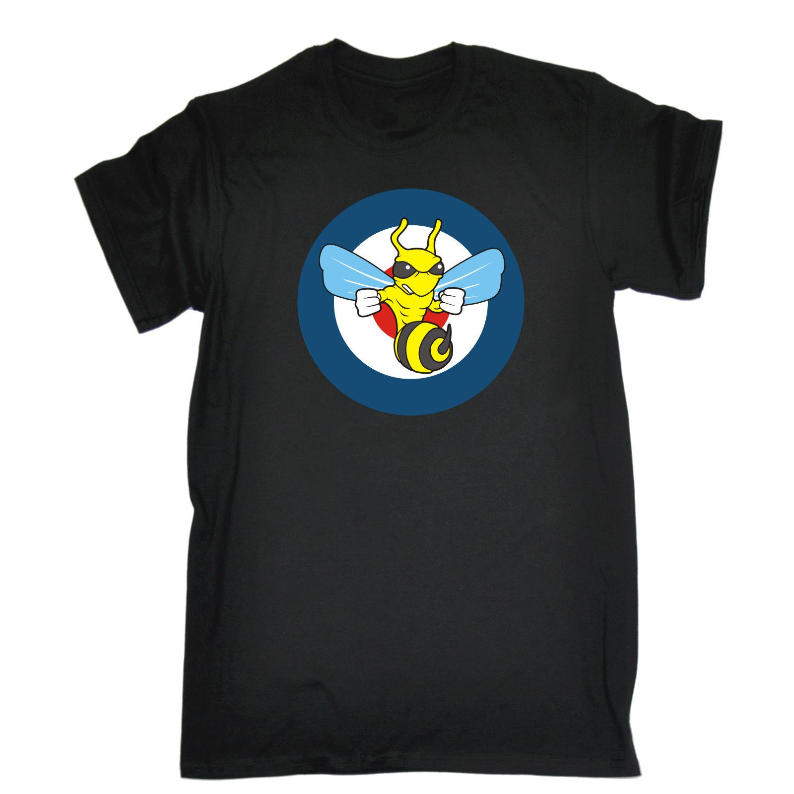 Black t shirt target - Target Fighting Wasp T Shirt Tee Joke Humour Funny Birthday Gift Present Him 2017 Short
