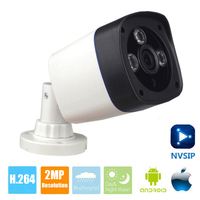 2MP IP Camera POE 1080P Full HD camera IP Outdoor P2P Night Vision Waterproof CCTV Camera 720P IR CUT ONVIF ABS Plastic Shell